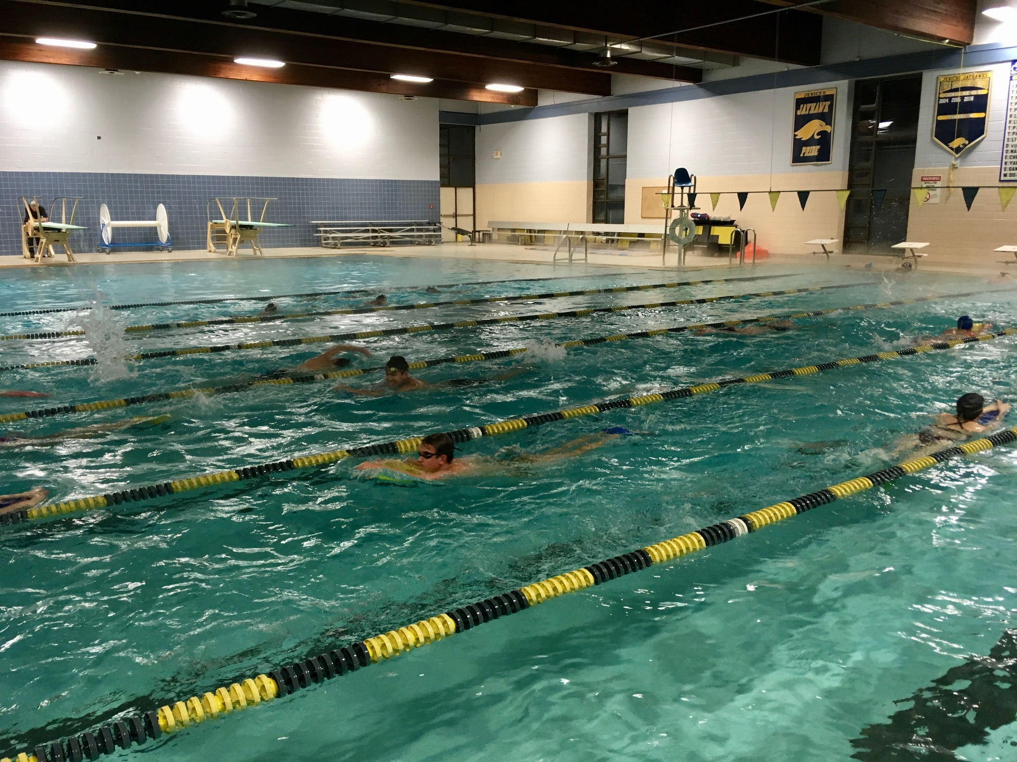 Long island express swimming home for University of york swimming pool