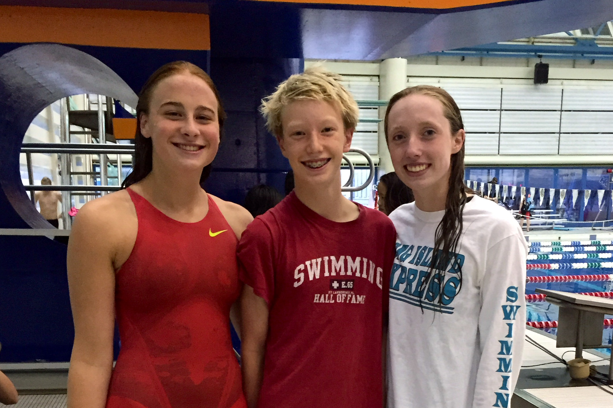 Long Island Express Swimming Records